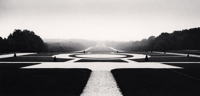 Michael Kenna | AXIAL PANORAMA, SCEAUX, FRANCE, 1990 (1990), Available for Sale | Artsy