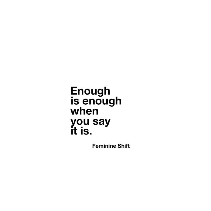 http://thefeminineshift.ca/enough-is-enough/