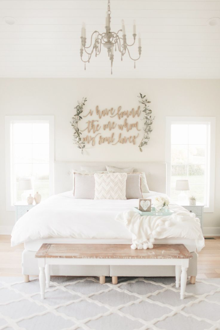 Upholstered Beds and Bed Frames at eBay  Farmhouse master bedroom