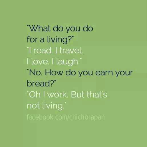 Living a life!