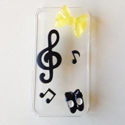 KIT PER DECURAZIONE COVER CELLULARE -MUSICA! #phone #cover #diy #case