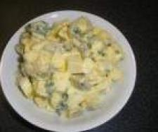 Hermelínovo vaječný salát