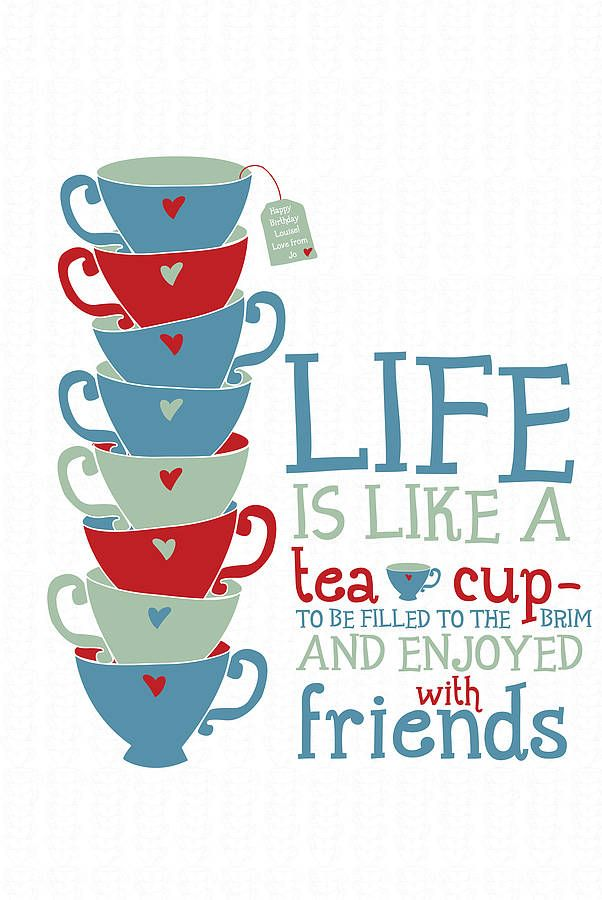 Quotes About Tea And Friendship Enchanting Our Favorite Quotes About ...