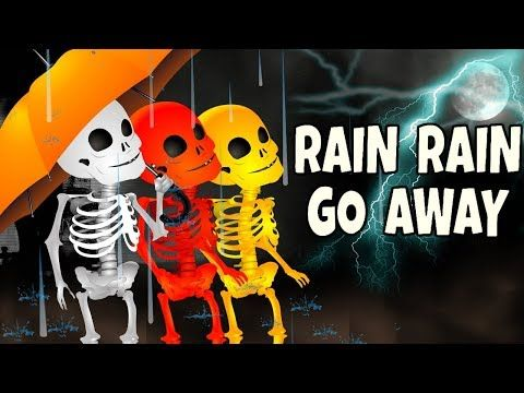 (5) Skeleton Dance | Finger Family Rhymes | Dinosaur Preschool Nursery Rhymes | Funny Color Skeletons - YouTube