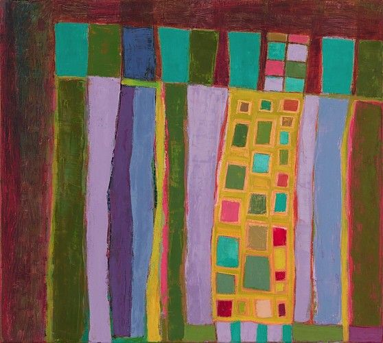 Jodie Manasevit (Represented), 1106 Park 2014, Oil on canvas