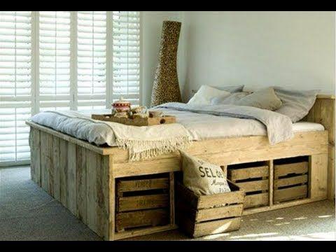 Кровать из поддонов  Идеи самоделки
