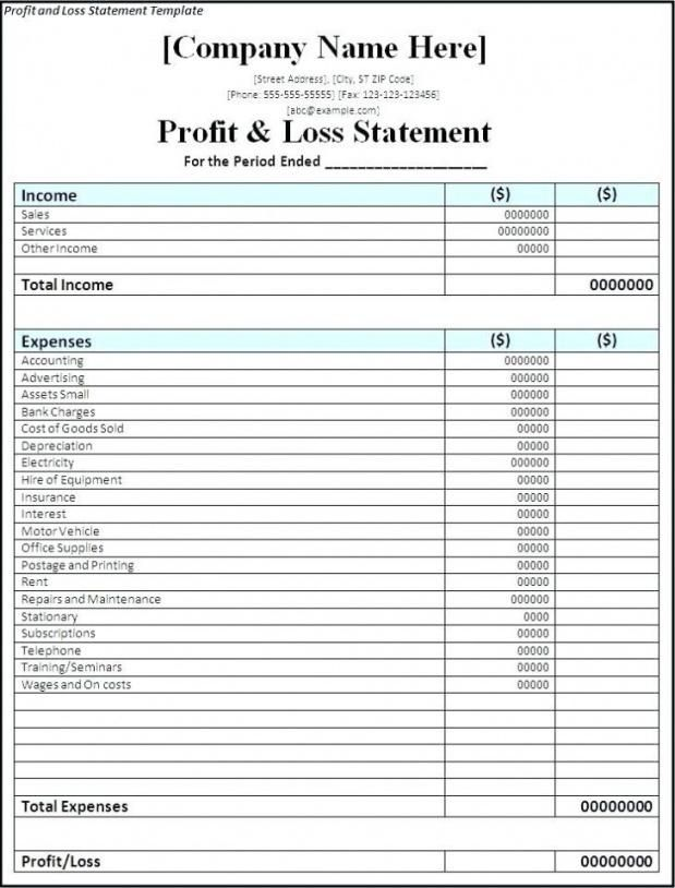 Printable Monthly Profit Loss Statement Template Pdf Example In 2021 Profit And Loss Statement Statement Template Cash Flow Statement