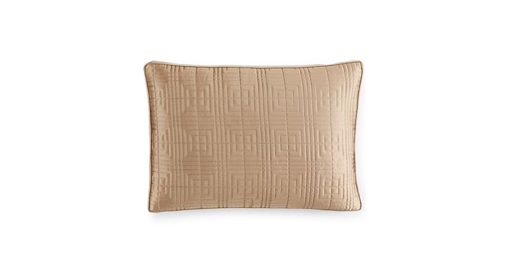 Hotel Collection Savoy Espresso Quilted King Sham
