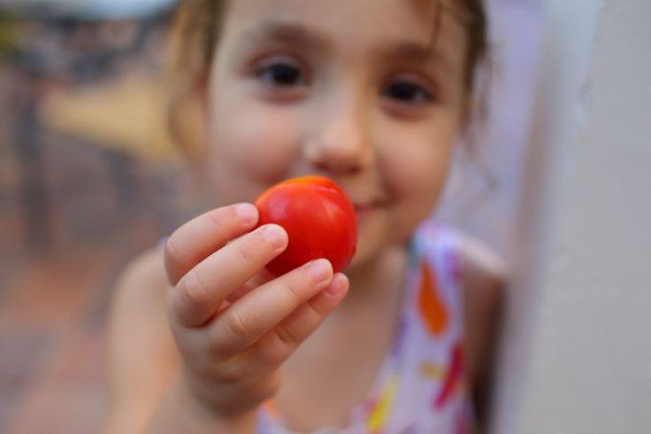 Heirloom Tomato Salad Recipe WWW.EFFIGEORGIA.COM.AU