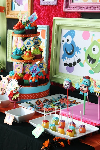 Monster Party: Monster Party, 1St Birthday, Monsters, Party Theme, Party Ideas, Birthday Party, Birthday Ideas