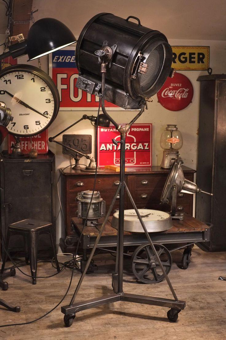 Projecteur De Cinema Mole Richardson Deco Loft