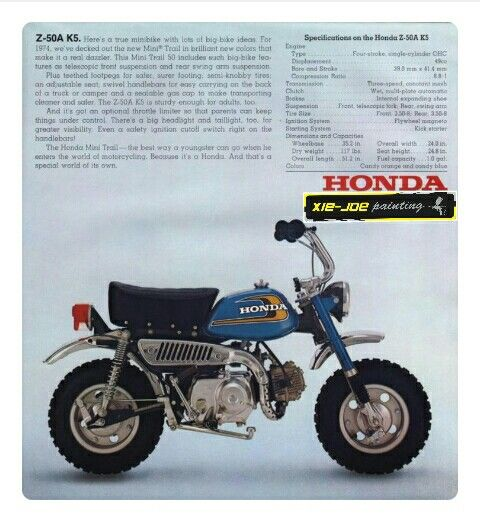 Honda MONKEY... rebuild from... honda astrea grand .supra 100 ...