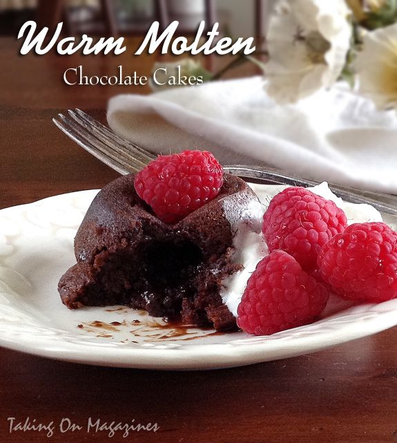 25+ bästa Molten chocolate cakes idéerna på Pinterest ...