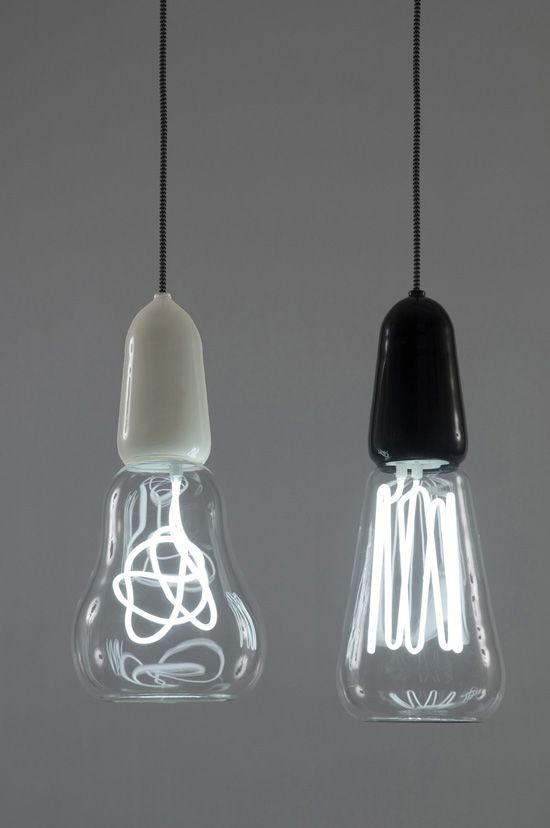 filament lamp: Scott, Rich & Victoria. An inter-disciplinary design partnership of New Zealanders Scott Fitzsimons and Richard Hartle, who began working together in London in late 2007.