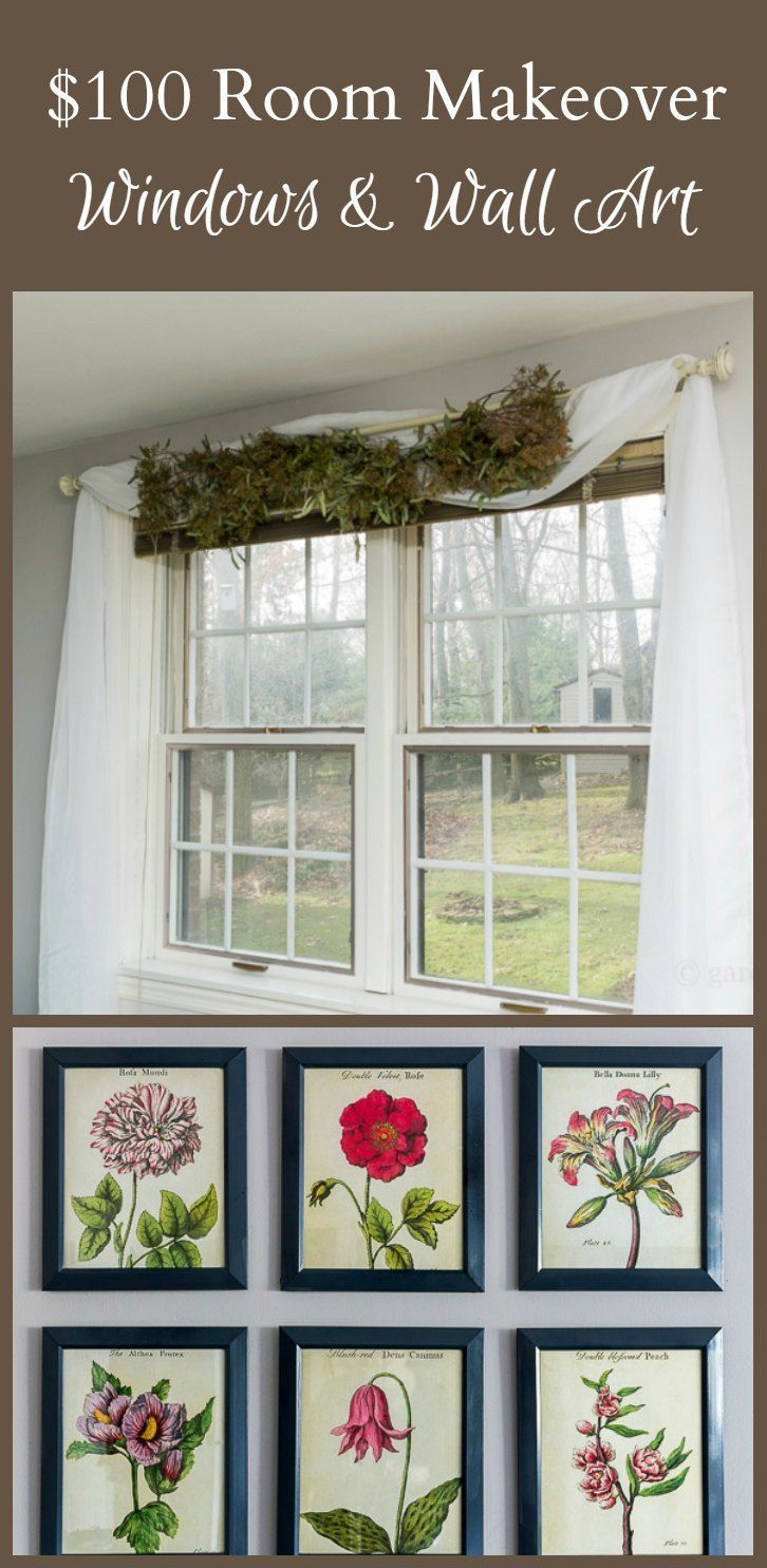3 window bedroom curtains  week  of the  room makeover challenge updates on wall art and