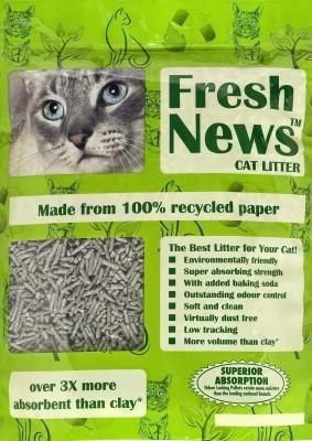 Fresh News Cat Litter, 4 lbs | Cat Training | Pinterest