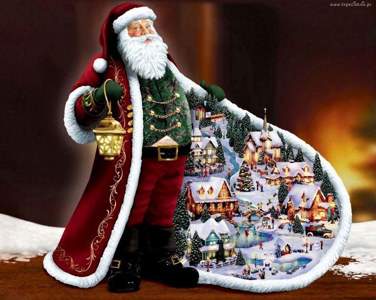Mikołaj, Płaszcz, Boże, Narodzenie