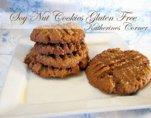 Soy nut butter cookies recipe