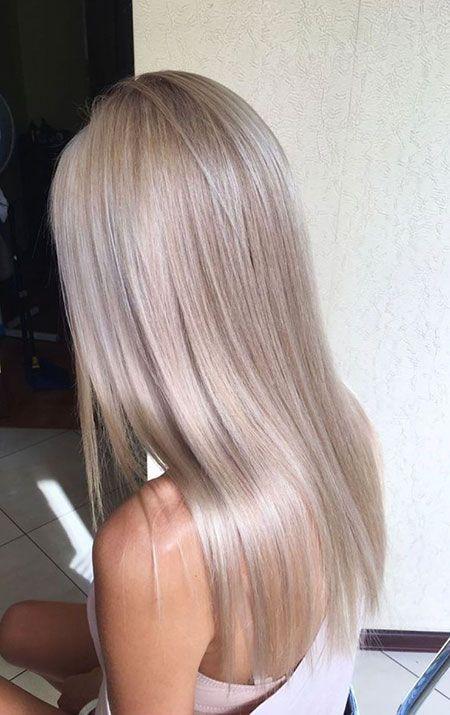 28 lange glatte Frisuren 2018 »Frisuren 2018 Neue Frisuren und Haarfarben   – hair