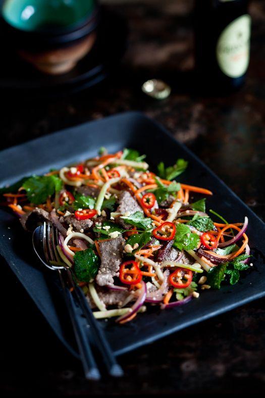 Thai Beef Salad | colors & DOF