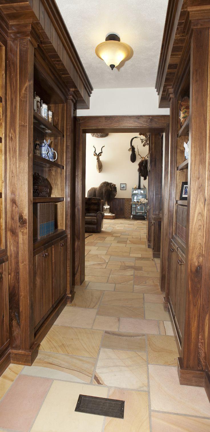 Gun room amp trophy room done hunting - Http Www Julianandsons Com Gun Roomstrophy