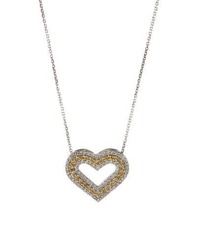 Diana M. Jewels 18k Diamond Pavé Coin Pendant Necklace o9xza58qd