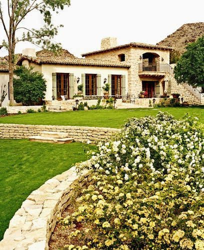 Mediterranean Ranch Style Homes: Hacienda Style Homes Design, Pictures, Remodel, Decor And