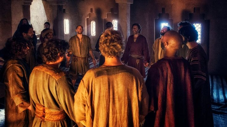 A.D.The Series episode 3 Inspired by the Holy Spirit, Peter miraculously heals a beggar – and act for which he is beaten and arrested; Pilate narrowly escapes assassination.