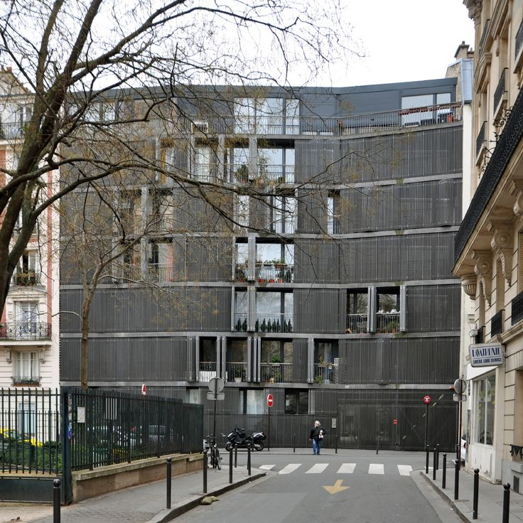 Rue des Suisses, Paris - France, Herzog & de Meuron