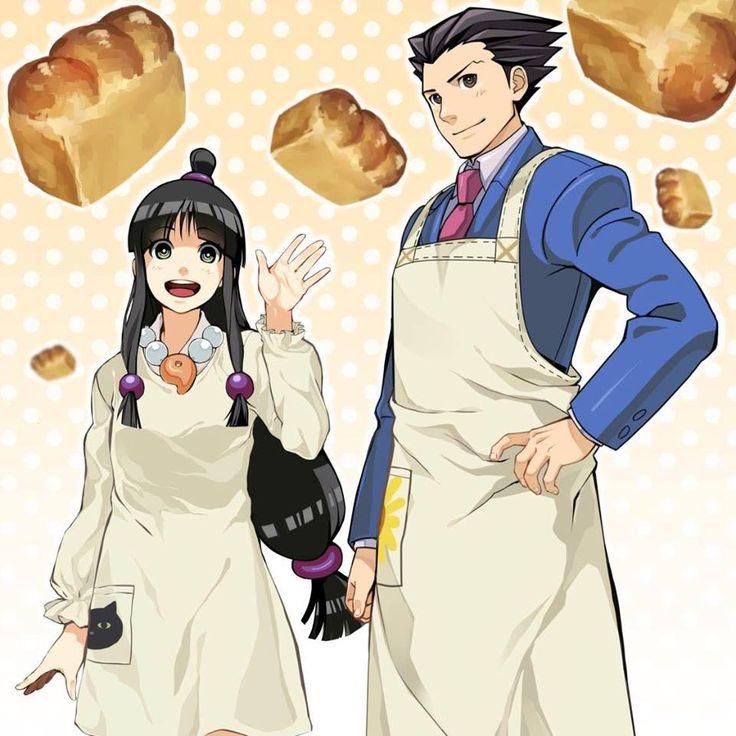 Bakers! (head assistant baker Phoenix i love it X'D)