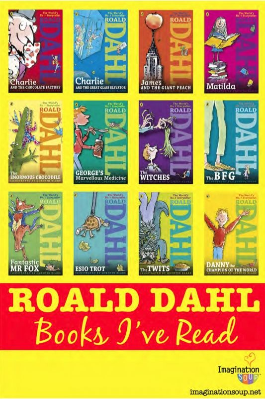 You'll want to download this free printable Roald Dahl book list so you can keep track of all the Roald Dahl books you've read. This booklet gives you fun facts, space for your book reviews, a place to put how many stars you give each book, and a chance to say if you'd recommend it to a friend.