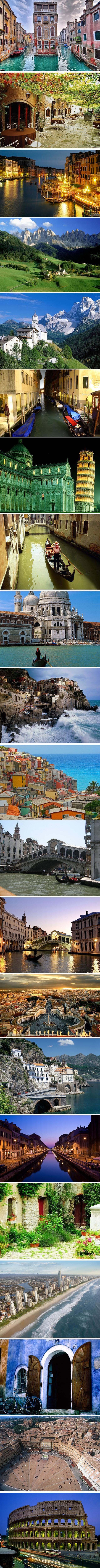 Amazing shots of Italy.