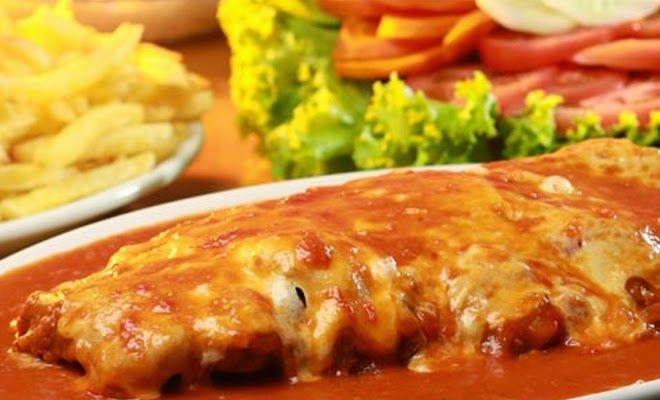 Bife à Parmegiana de Forno, prepare esta deliciosa receita! INGREDIENTES 4 bifes de sua preferência temperados a gosto. 2 ovos farinha de trig