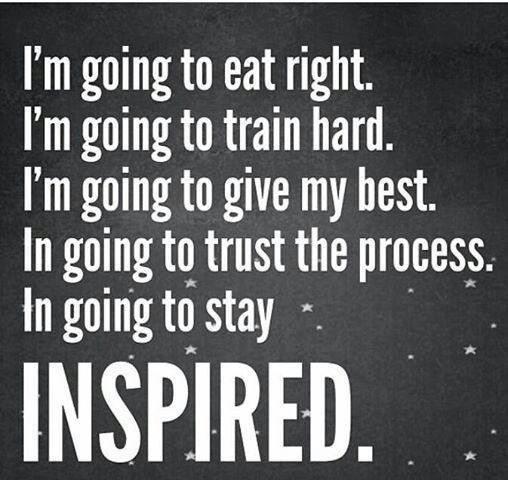 i'm going to stay inspired. #weightloss