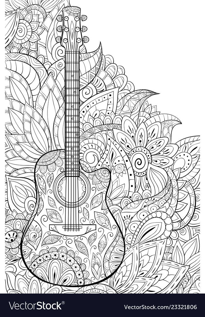 Pin On Music Coloring