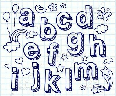 Рукописные шрифты - идеи