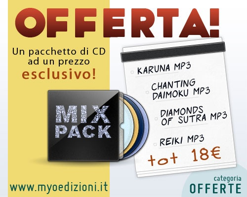 Offers - Mix Pack #music #buddhism  4 CDs from different categories of Myo Edizioni catalog at an exclusive prize!  You can find the Mix Pack in the OFFERS category of http://www.myoedizioni.it