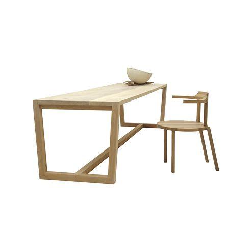 massief houten tafel pilat&pilat tafel van massief hout