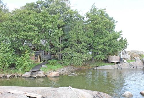 Saunasaari, sauna island in Helsinki