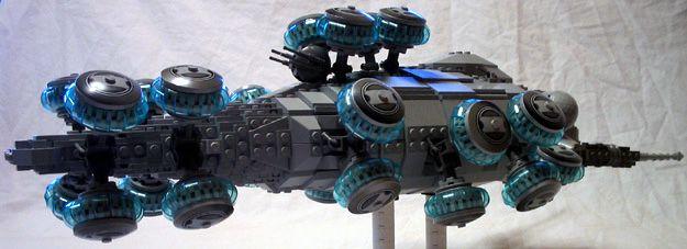 Bruce's Homepage - LEGO Matrix - Logos Hovership