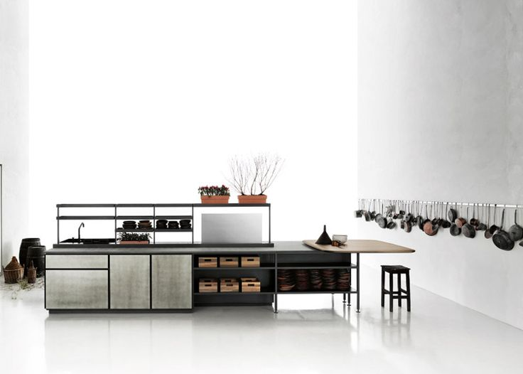 Patricia Urquiola's Salinas system for Boffi is based on her grandfather's kitchen.