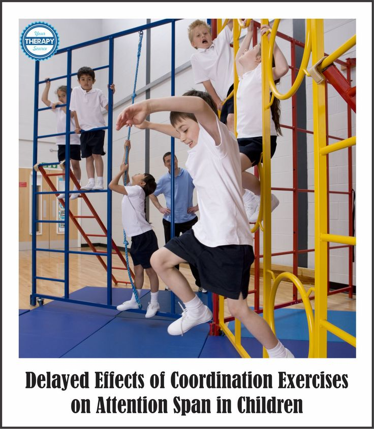 Delayed Effects of Coordination Exercises