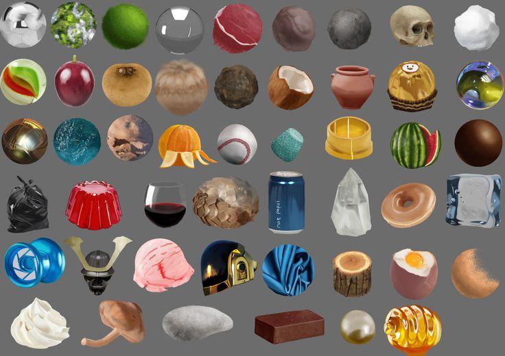 ArtStation - Material Studies, Jieh You Koh