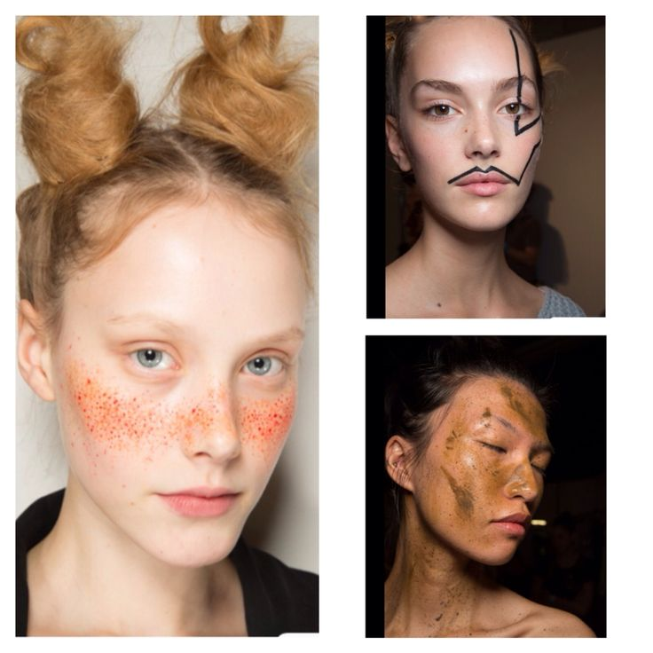 Vivian Westwood red label #LFW SS2015 #fashion #catwalk #beauty #hair