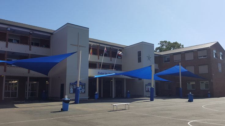 Shade Sails at Private School