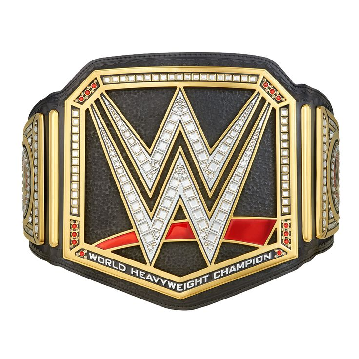 <p>Introducing the NEW WWE World Heavyweight Championship Kids Replica Title Belt!