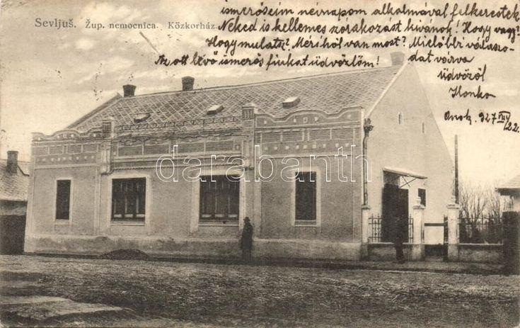 Nagyszőlős, Vynohradiv, Sevlus (Sevljus); Közkórház / public hospital (EK)