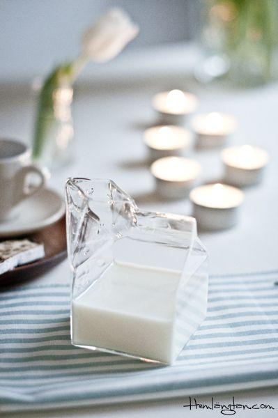 Milk jar from Bloomingville  www.hemlangtan.com