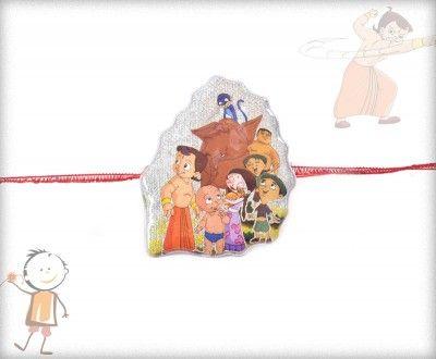 Kids Rakhi - Buy Online Kids Rakhis & Rakhi Gift Hampers With Free Shipping India ~ Kids Rakhi - BablaRakhi.com