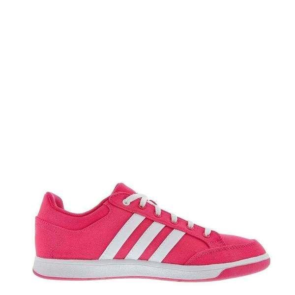 chaussure adidas femme rose en toile